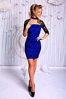 Летнее  платье   с гипюром  ! , фото 1
