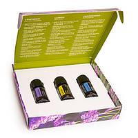 """Introduction to Essential Oils Kit / набор чистых эфирных масел """"Ознакомительный"""", 3 шт по 5 мл."""