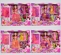 Кукла с нарядом для девочек  Игра куклы неделя высокой моды  Куклы Барби детские игры