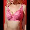Бюстгальтер Diorella оптом розовый, чашка Е (арт. 638/1)