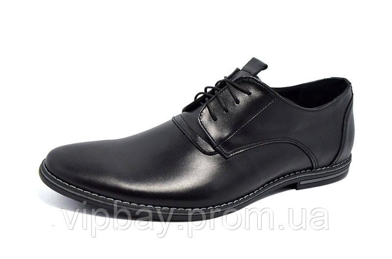 Туфли кожаные Van Kristi 348 Black