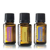 Introduction to Essential Oils Kit (Beginner's Trio) / Ознакомительный комплект эфирных масел , 3 шт по 15мл.
