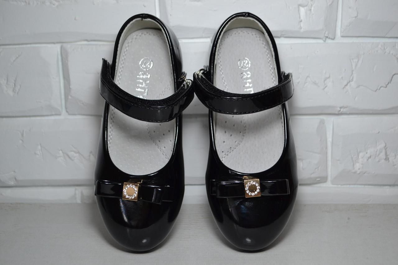 14391babf Туфли Ангел черные для девочки 26р-31р - Интернет-магазин детской обуви