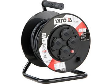 Удлинитель на катушке 20 метров Yato YT-81052