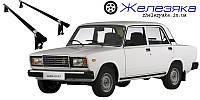 """Багажник на крышу ВАЗ 2107 """"UNI"""" (140 см) """"Эконом"""", фото 1"""