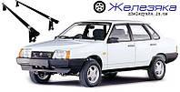"""Багажник на крышу ВАЗ 21099 """"UNI"""" (128 см) """"Эконом"""", фото 1"""