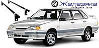 """Багажник на крышу ВАЗ 2115 """"UNI"""" (128 см) """"Эконом"""", фото 1"""