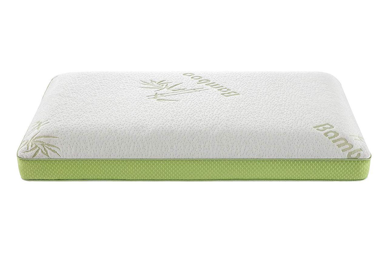 Дорожная подушка из пены с памятью Alveo Bamboo Hypoallergenic