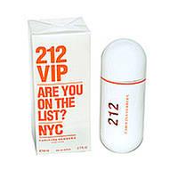 Женская парфюмированная вода CAROLINA HERRERA 212 vip are you on the list (оранжевая)