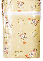Термоконтейнер Ceba Baby Double   85*155*230мм*2шт бутылочки желтый (мишки с волшебной палочкой)