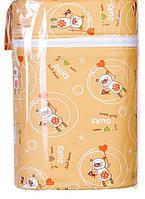 Термоконтейнер Ceba Baby Double   85*155*230мм*2шт бутылочки оранжевый (мишки с волшебной палочкой)