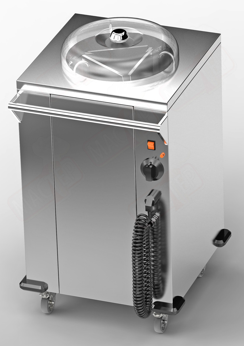 Диспенсер для тарелок (тепловой) PD-50 Е (560х500х850)