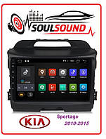 Магнитола KIA Sportage III, USB, GPS, Android