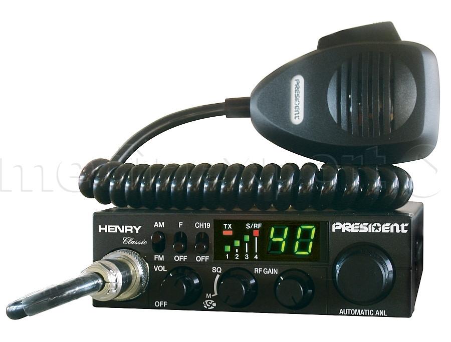 Радіостанція CB PRESIDENT Henry ASC