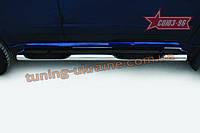 Пороги d 76 c 2-мя проступями (компл. 2 шт) Союз 96 на Great Wall Hover H5 2010-2013