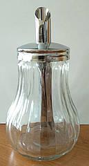 Сахарница-дозатор для сахара / сахарница стеклянная, 250  мл, MS-0395