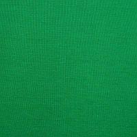 Трикотажное полотно интерлок хб пенье, однотон зеленая трава