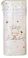 Термоконтейнер Ceba Baby Jumbo 70*80*230мм  беж-салатовый (зайчик, птичка)