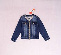 Джинсовый пиджак для девочки на возраст 14, 16лет   Маломерит