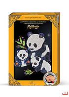 Картина-мозаика из пайеток от Danko Toys в декорированной рамочке (10)