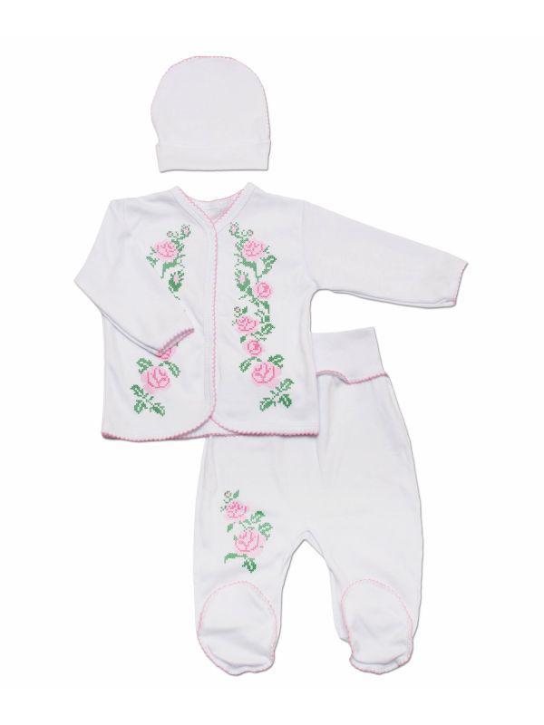 Комплект для новорожденной девочки на выписку