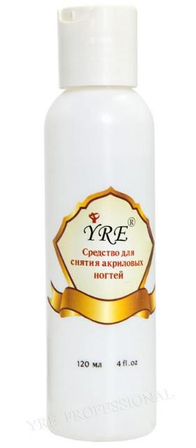 Жидкость для снятия акрила 120мл YRE \ 70.84