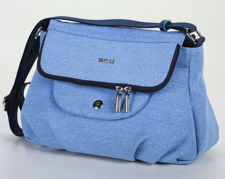 e7bd333d54c7 Женская молодежная сумка Dolly 645 голубая (серая, синяя). Под заказ. 555  грн. Купить