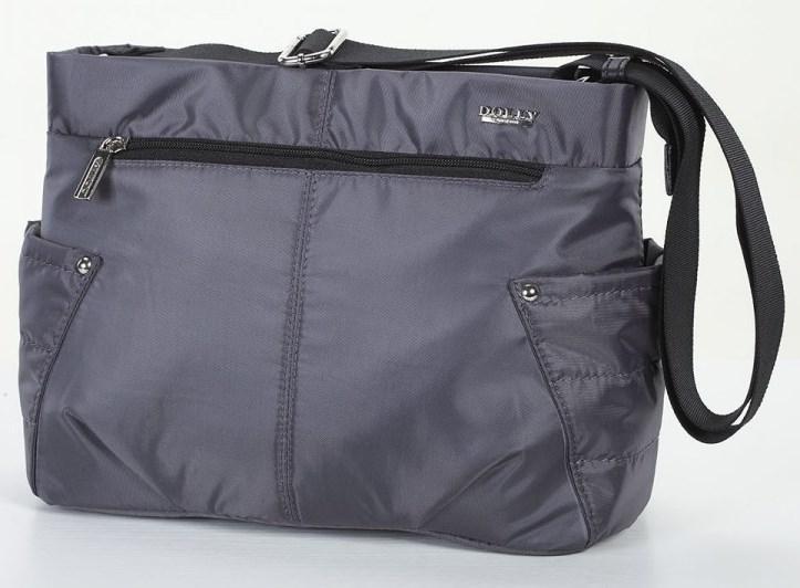ac973a2ebd9e Женская молодежная сумка Dolly 646 черная (серая, синяя). Под заказ. 420  грн. Купить