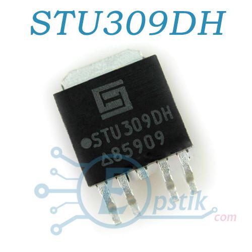 STU309DH, транзисторная сборка, N-channel+P-channel, 30В 18А/14А, TO252-4L
