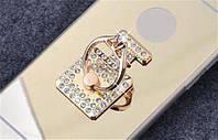 Кольцо-держатель для смартфонов и планшетов. Квадрат. Crystal. 4,5х3см.
