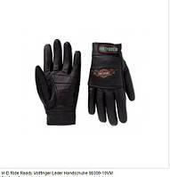 Мотоперчатки Harley Davidson RIDE READY VOLLFINGER LEDER HANDSCHUHE 98309-10VM/000S