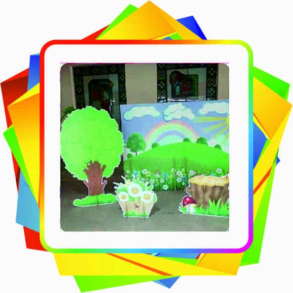 Декорації для дитячих свят i ранкiв