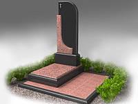 Пам'ятник гранітний на одного.