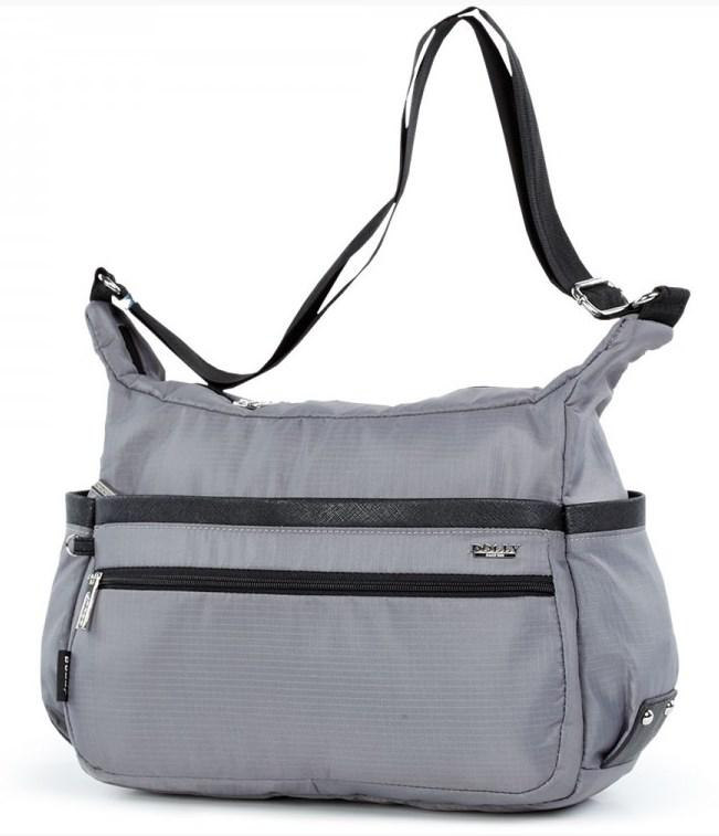50e7447ee1f0 Женская молодежная сумка Dolly 648 серая (черная, синяя, голубая ...