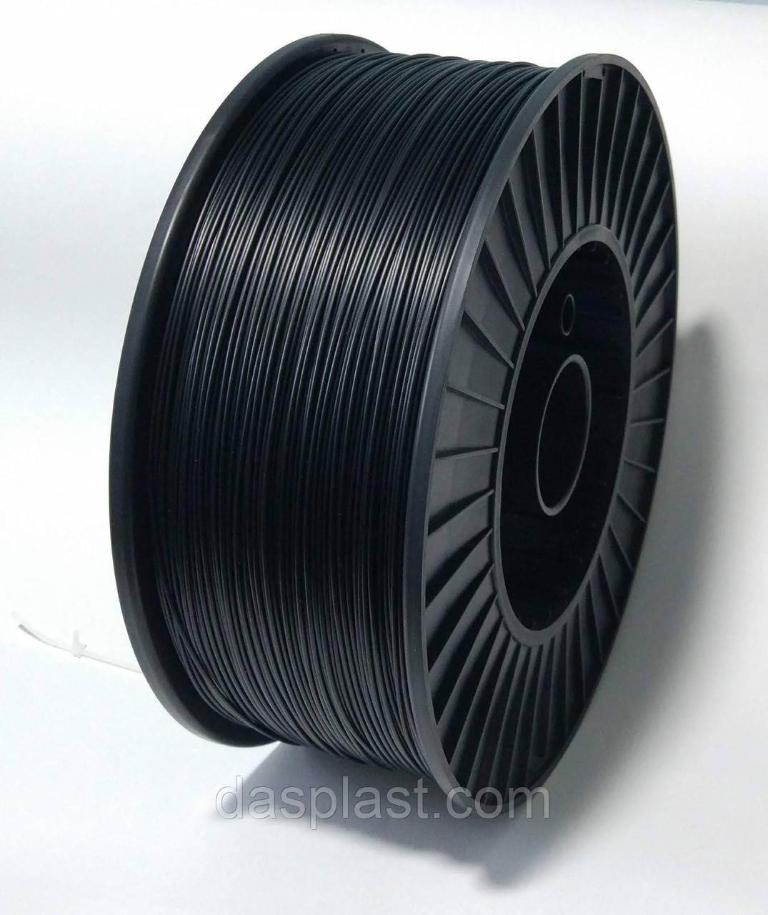 АБС нить 1.75 мм 2,5 кг пластик для 3d печати, черный
