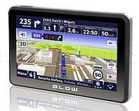 GPS-навигатор (карта автомобильных дорог Польши - 2 года) BLOW GPS590 Sirocco