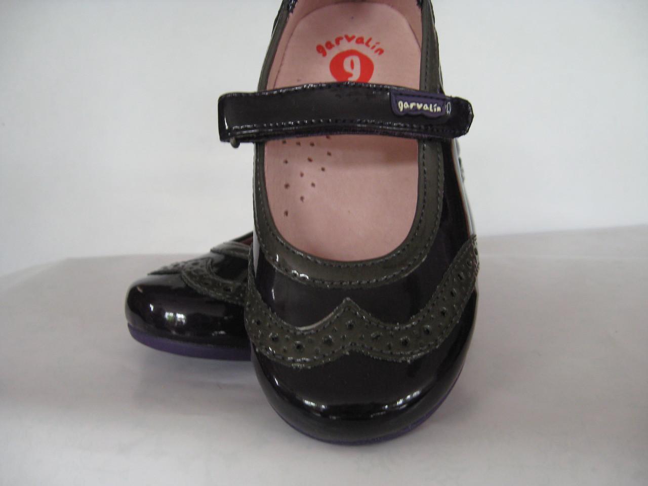 Туфлі для дівчинки Garvalin 111404 фіолетові  22-28