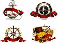 Вафельная картинка Пираты морские, для торта