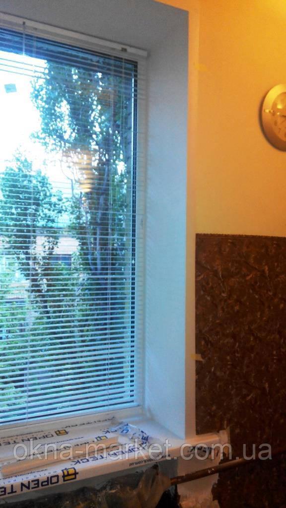 Жалюзи на окна пластиковые - фото галерея Окна Маркет