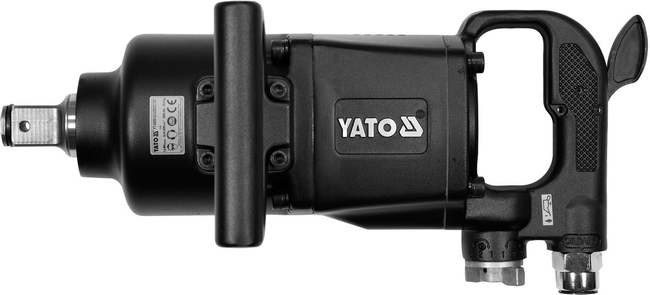 Мощный ударный пневматический гайковерт Yato YT-0959