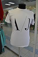 Футболка мужская  ARMANI JEANS, белая L