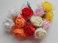 Троянди з фому