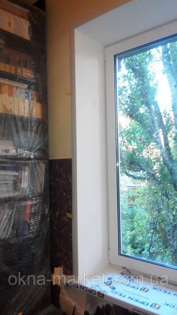Откосы на окна Киев. Гипсокартонные, пластиковые откосы