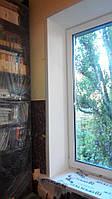 Откосы на окна Киев. Гипсокартонные, пластиковые откосы, фото 1