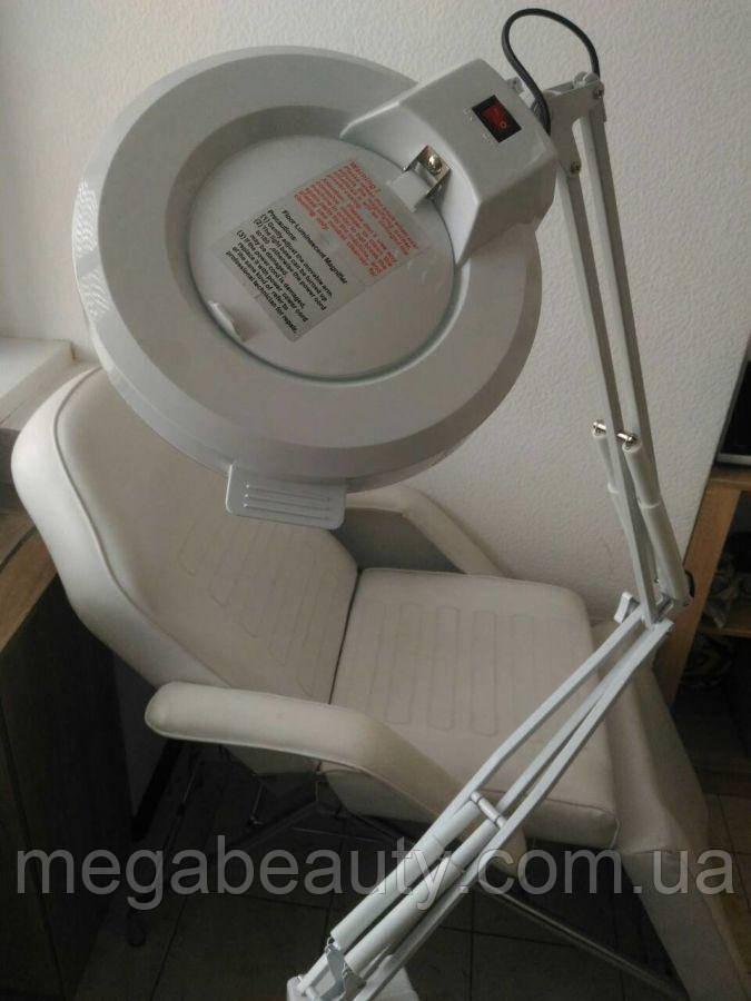 Лампа-лупа с креплением к столу М-2021Т на 3 и 5 диоприй, для наращивания ресниц, для косметолога