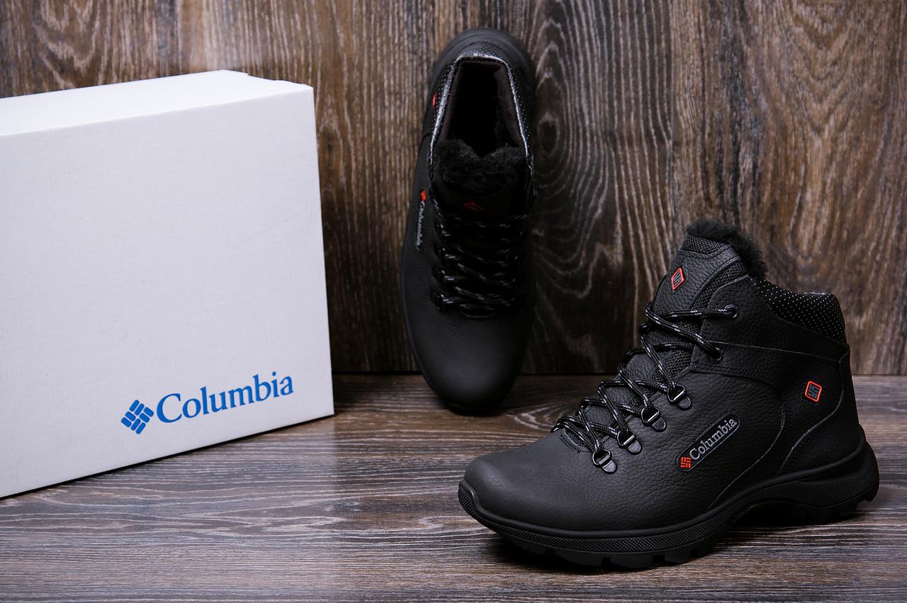Мужские кожаные зимние ботинки Columbia Track Control 8
