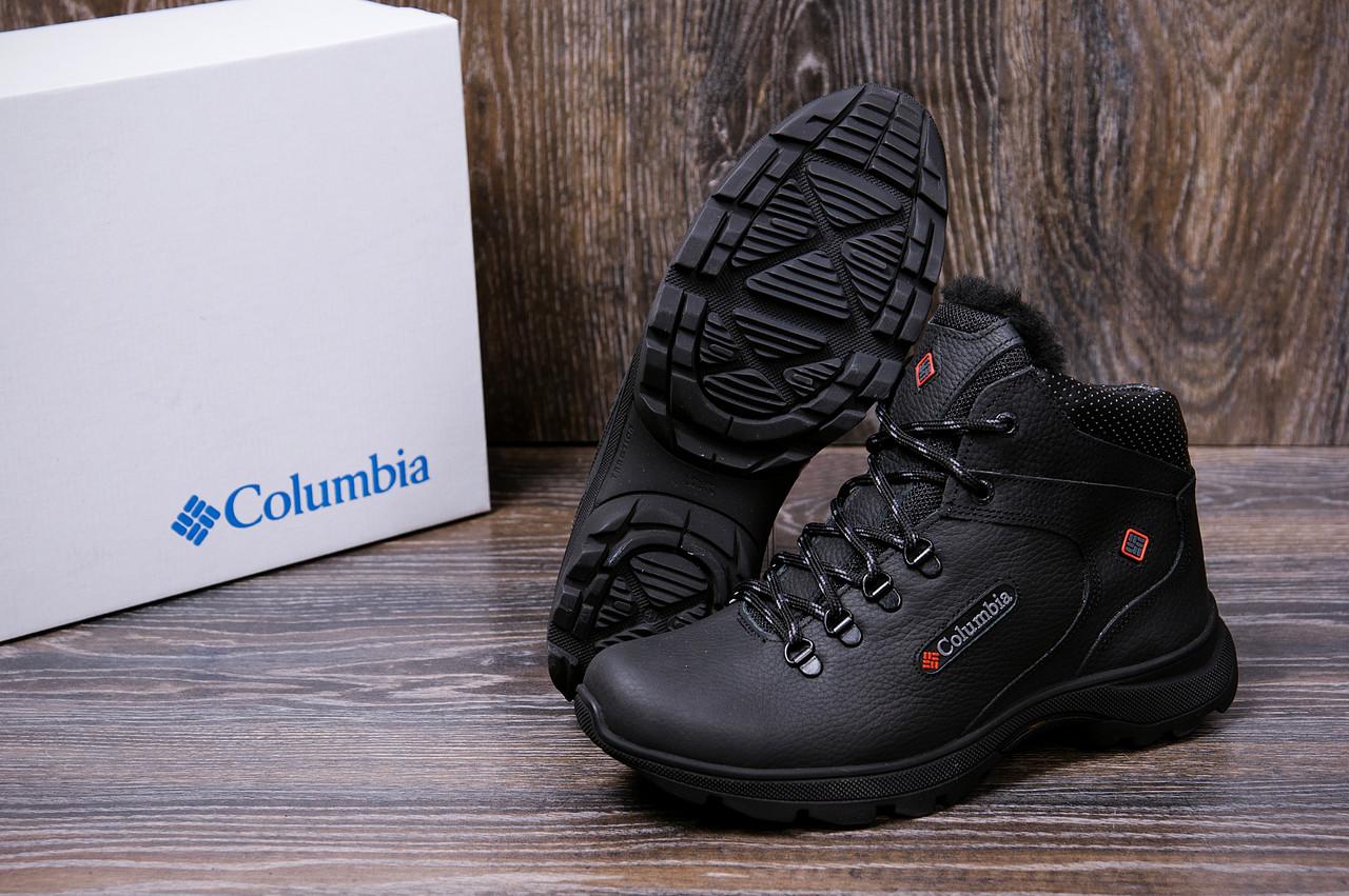 Мужские кожаные зимние ботинки Columbia Track Control 7