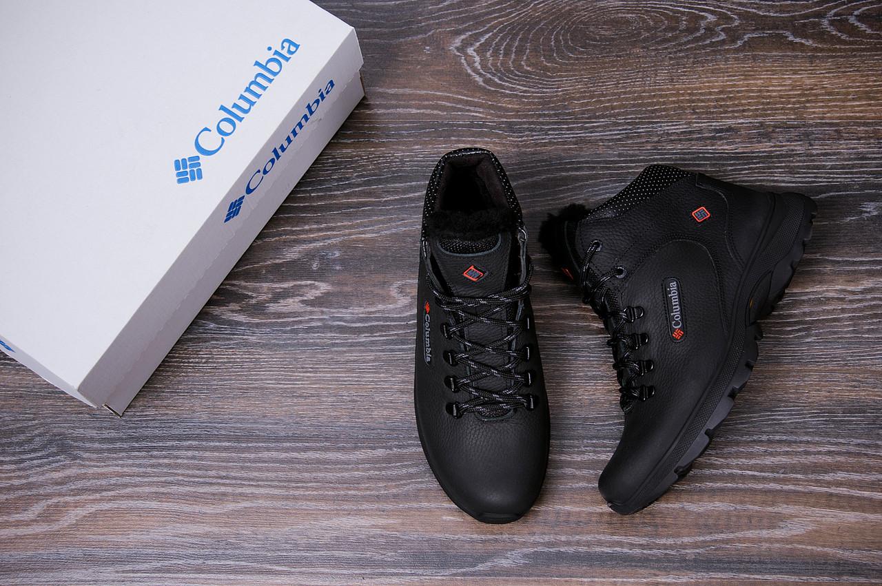 Мужские кожаные зимние ботинки Columbia Track Control 10