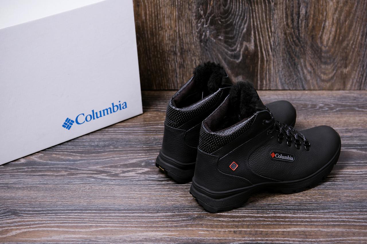 Мужские кожаные зимние ботинки Columbia Track Control 9