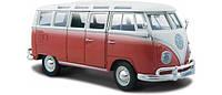 """Автомодель (1:25) Volkswagen Van """"Samba"""" красно-кремовый (31956 red cream)"""